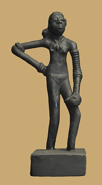ancient art dancing girl
