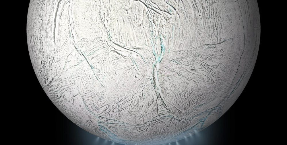 What makes Enceladus so similar to Earth's oceans? Credit: California Institute of Technology