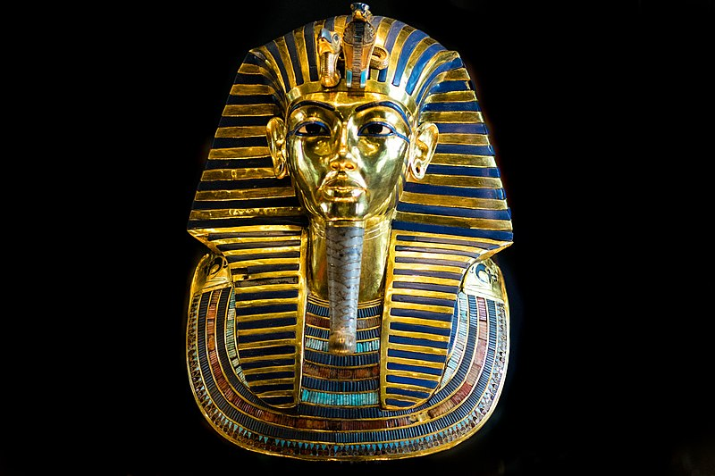ancient art king tut