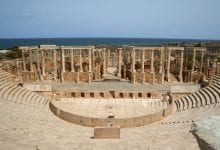 The massive theatre of Leptis Magna. Credit: Wikimedia Commons