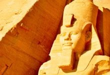 Ramesses the Great at Abu Simbel. Image Credit: Jumpstory.