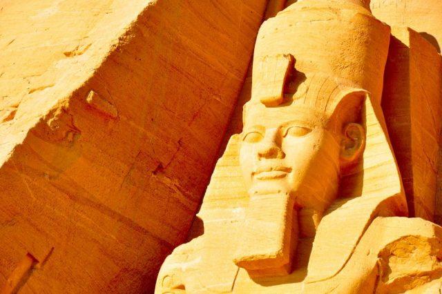 Ramesses the Great at Abu Simbel. Image Credit: Jumpstory.