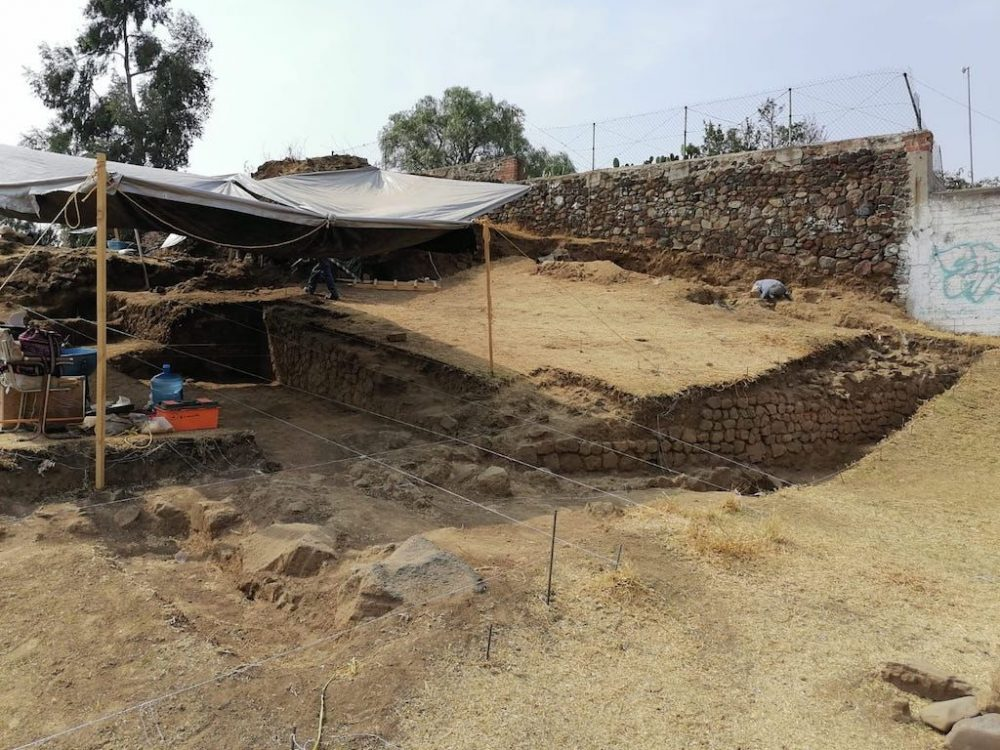 Another angle of the excavation work. Credit: Who can tell how many such important structures have also been destroyed during the construction of modern cities? Credit: Hervé Monterros Desruelles