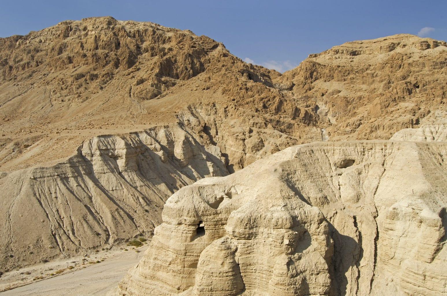 The Qumran Caves. Credit: Pixabay