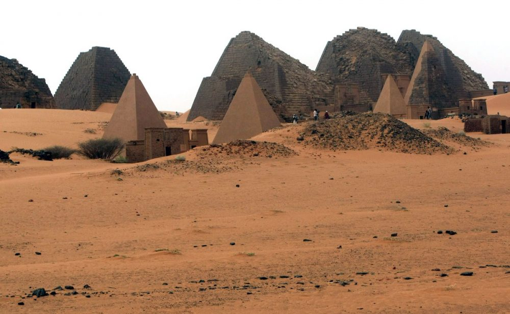 Unfortunately, over 40 of the pyramids were either partially or completely destroyed by treasure hunters. Credit: Mohamed Nureldin Abdallah / Reuters