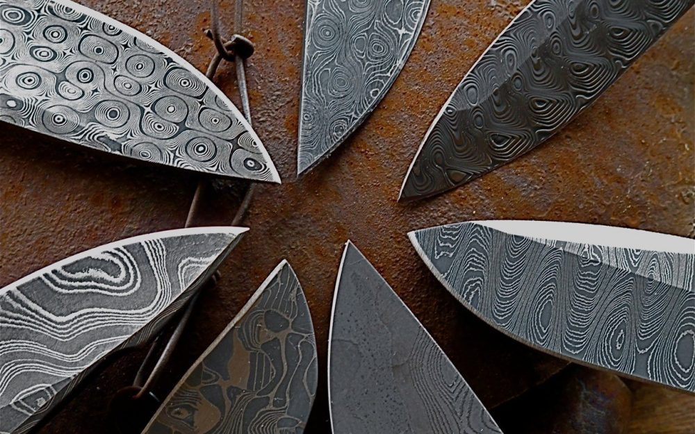Modern blacksmiths are slowly uncovering the secrets of ancient Damascus steel. Credit: Everydaycarry