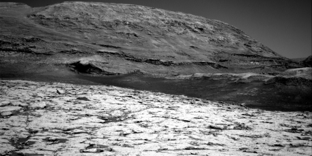 A picture of the surface of Mars, taken by the Mars rover Curiosity on May 19th. Photo credit: NASA / JPL-Caltech