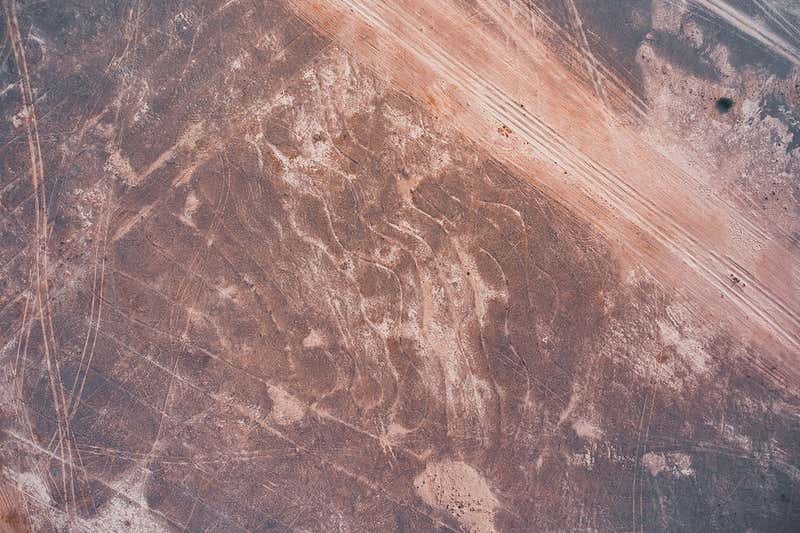 The newly-found Indian geoglyphs, now believed to be the largest on Earth. Credit: Yohann Oetheimer