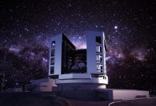 Artist's impression of the Giant Magellan Telescope when complete. Credit: Giant Magellan Telescope – GMTO Corporation