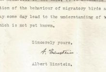 Scientists have revealed a long-lost letter from Einstein himself. Credit: Friedrich G. Barth et al. / Journal of Comparative Physiology A, 2021