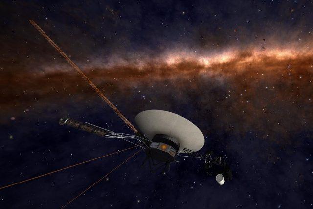 NASA's Voyager 1 spacecraft in interstellar space. Credit: NASA