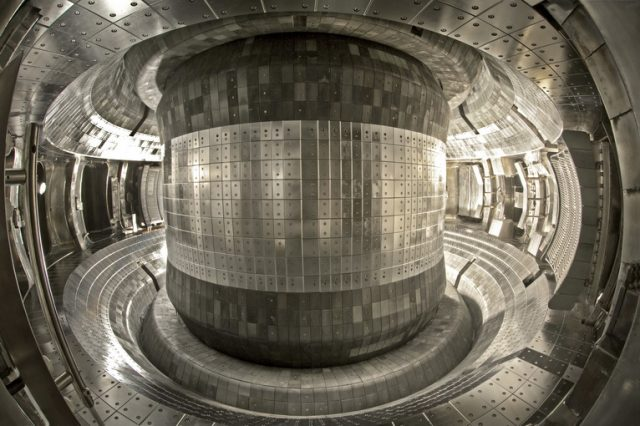 Inside the Chinese artificial sun, which continues to break scientific record after record. Credit: Institute of Plasma Physics Chinese Academy of Sciences