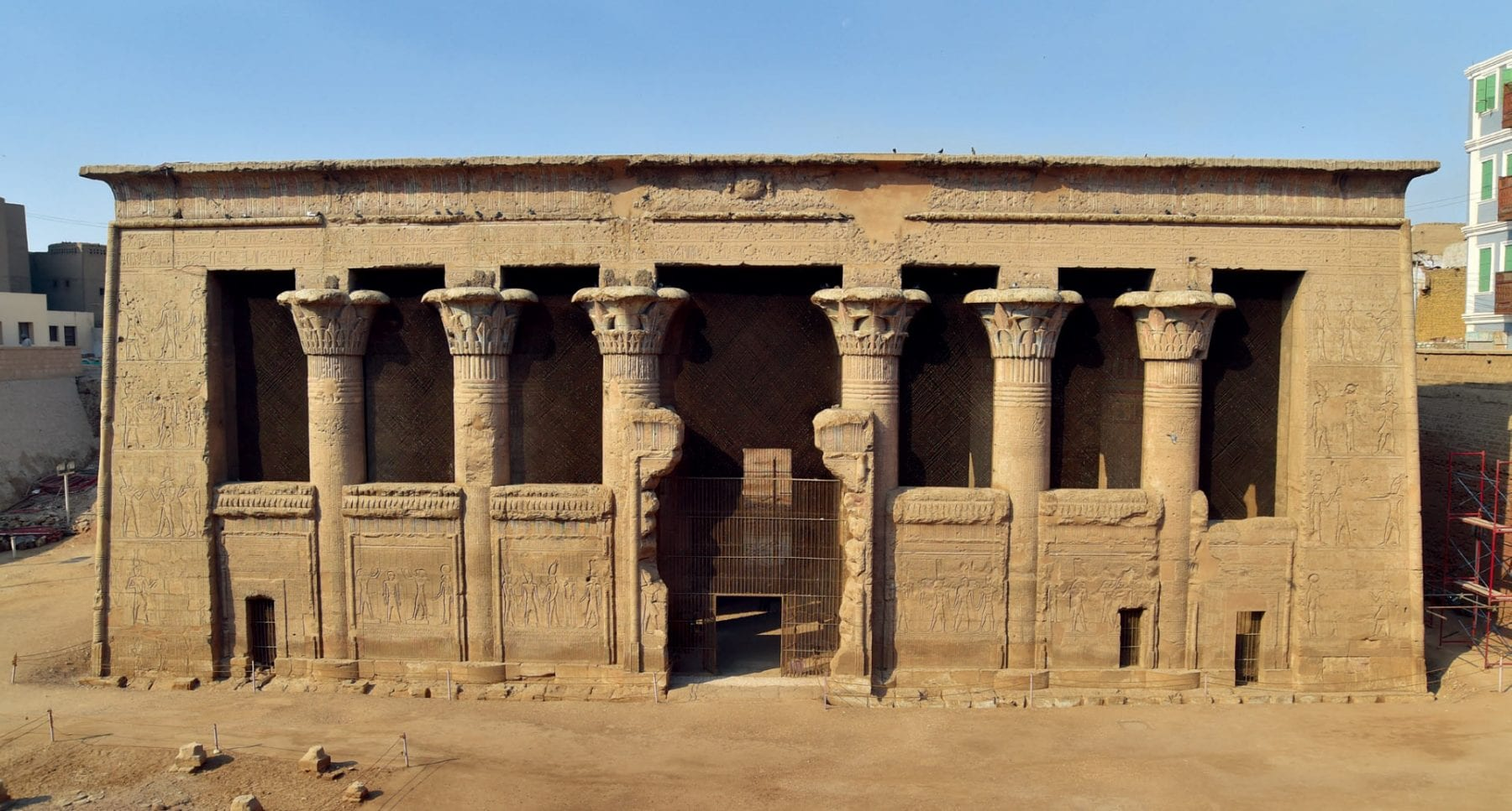 The Temple of Esna. Credit: Ahmed Amin