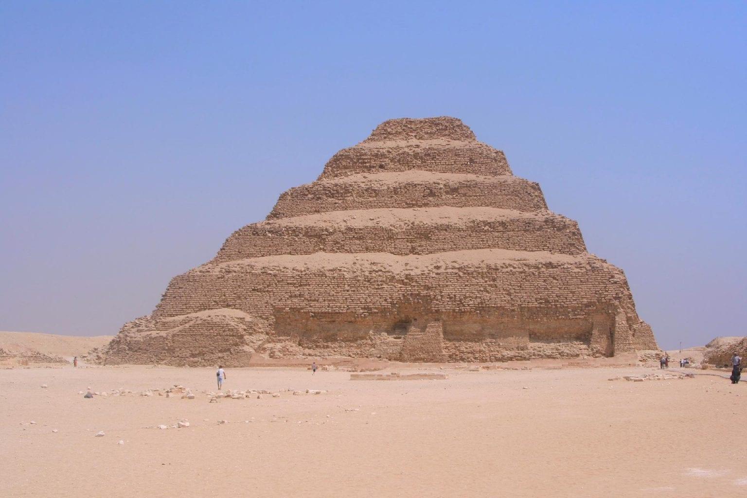 Step pyramid of Djoser. Credit: Jumpstory
