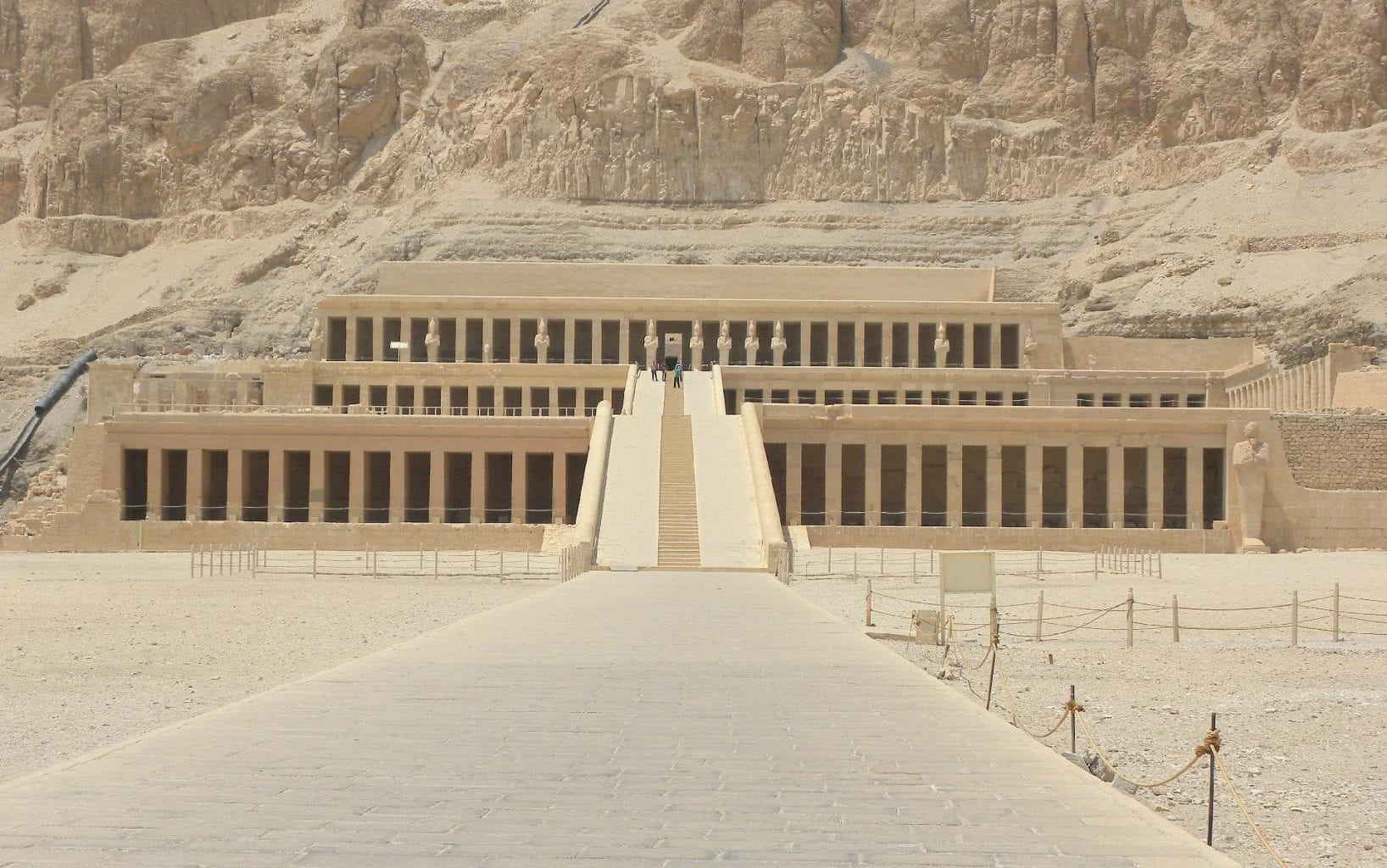 The Mortuary Temple of Hatshepsut. Credit: Jumpstory