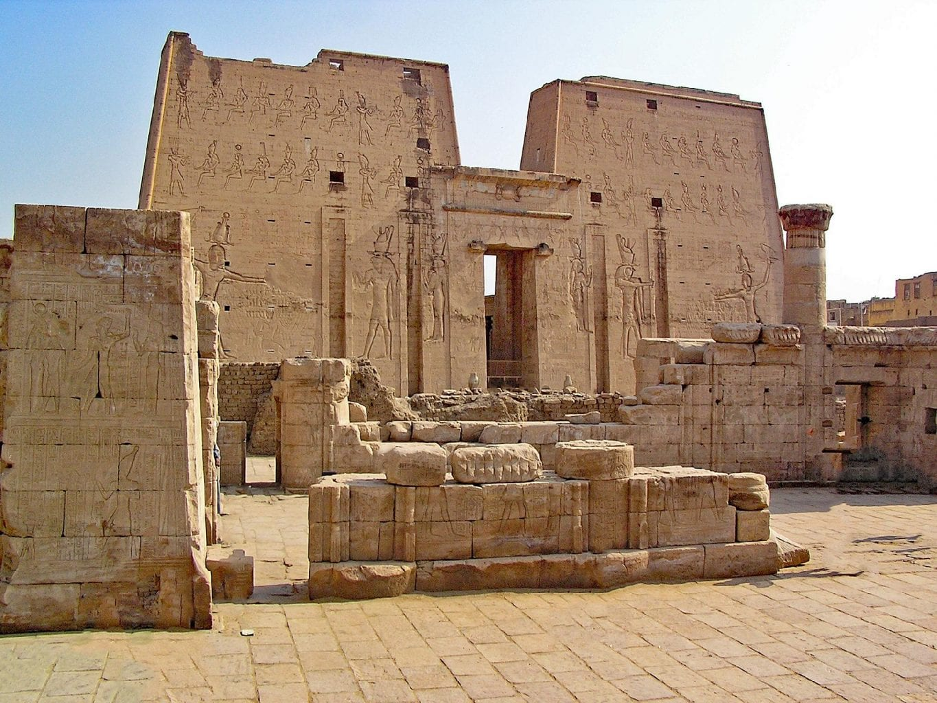 One of the most fascinating ancient Egyptian megastructures - the Temple of Edfu. Credit: Jumpstory