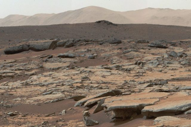 Samples from the Martian Gale Crater have hints that Mars may have been habitable for at least a million years in the distant past. Credit: NASA