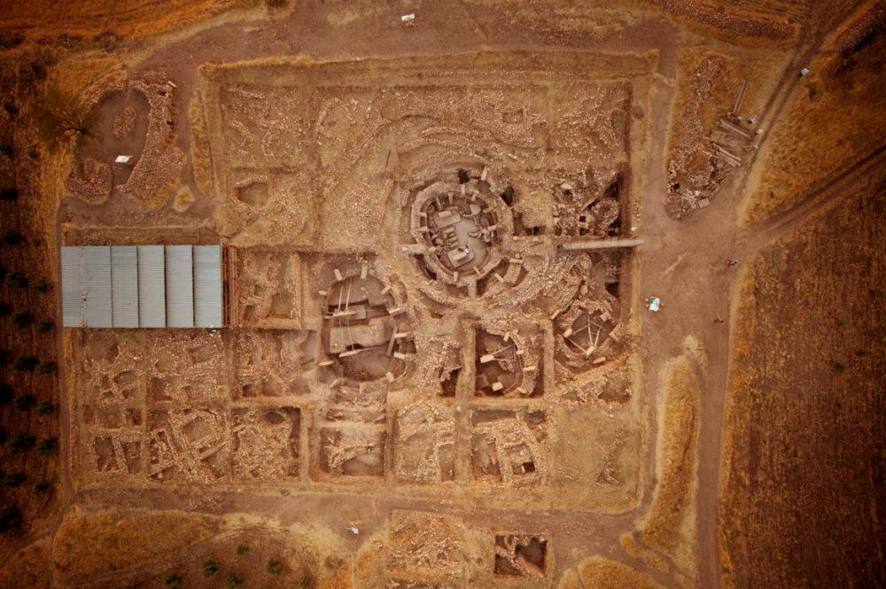 Aerial view of Gobekli Tepe. Credit: DAI, Gobekli Tepe Project