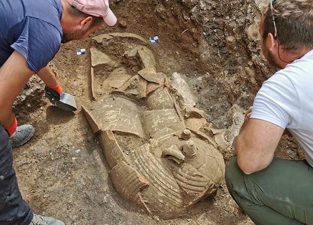Another richly-decorated burial from the necropolis in Hvar. Credit: Kantharos / Facebook