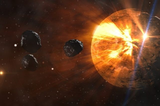Experts believe that a comet impact or comet debris impacts around the world may have sparked the rise of human civilization. Credit: Pixabay