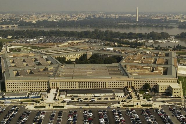 The Pentagon's UFO report will be declassified on June 25. Credit: Jumpstory