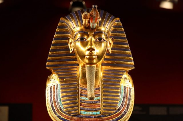 Was King Tut's mask really made for him? Credit: Wikimedia Commons