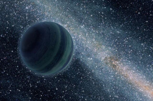 Here's how rogue planets appear in space based on an artist's impression. Credit: NASA/JPL-Caltech