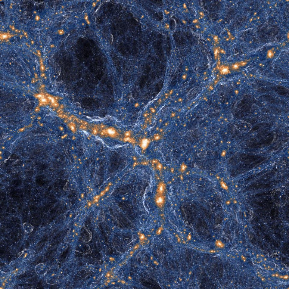 Visualization of the Laniakea Supercluster with its 100,000 galaxies. Credit: TSAGHKYAN / WIKIMEDIA COMMONS