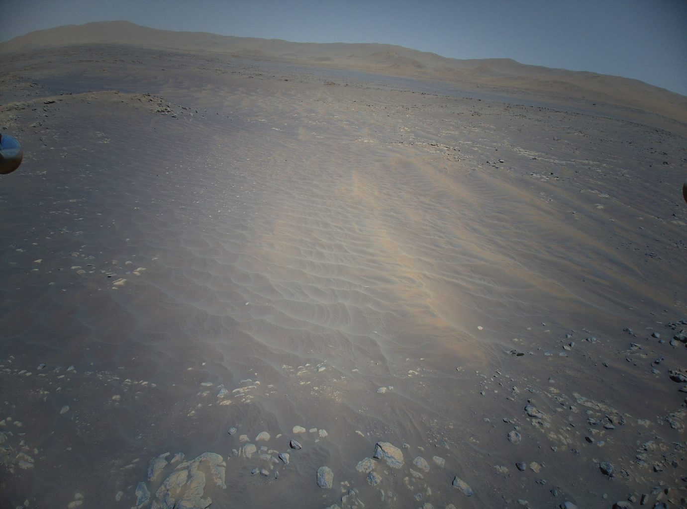 Another new image from the air on Mars. Credit: NASA/JPL-Caltech
