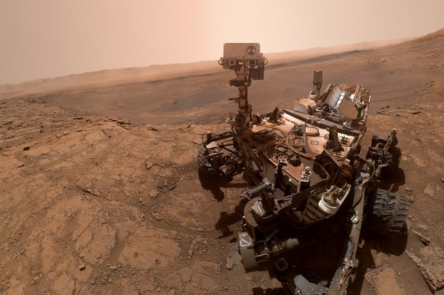 Scientists analyzed Curiosity's old data and believe they have found a possible source of methane on Mars near the rover. Credit: NASA/JPL-Caltech/MSSS