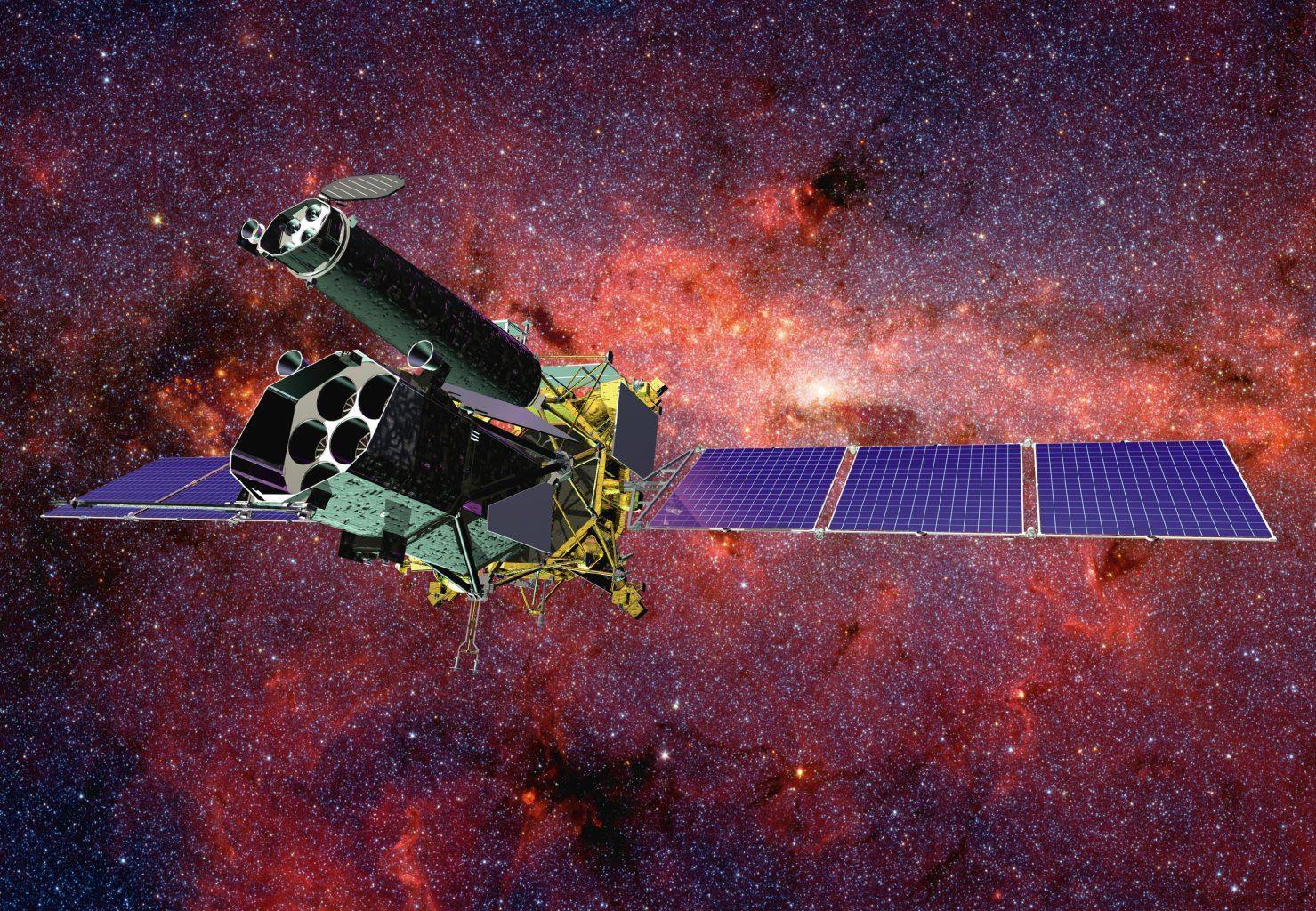 Artist's impression of Spektr-RG in space. Credit: JSC