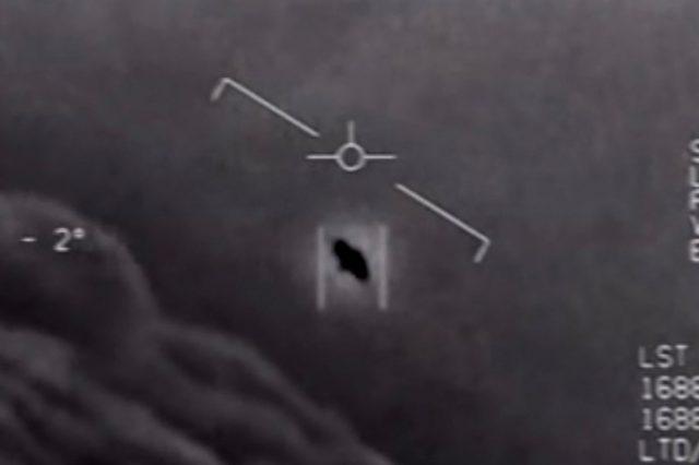 The legendary Tic Tac UFO. Credit: US Navy
