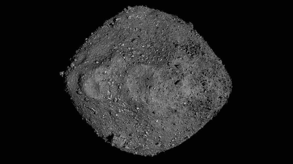 Mosaic of asteroid Bennu created from several observations made by NASA's OSIRIS-REx probe. Credit: NASA/Goddard/University of Arizona