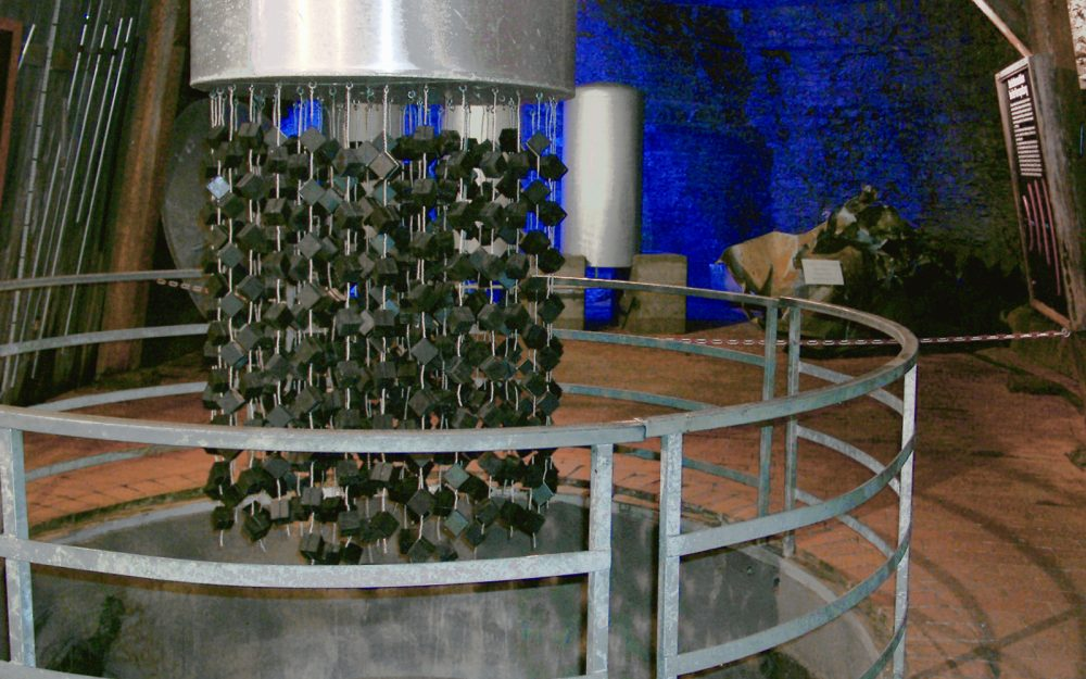 A replica of the Heisenberg reactor at Haigerlock. Credit: Wikimedia Commons