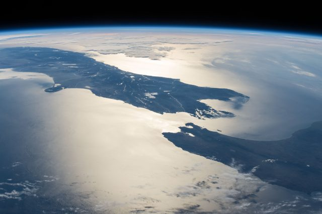 New Zealand from space. Credit: NASA