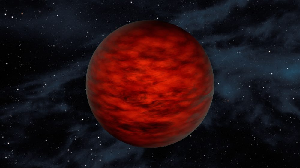 Astronomers have discovered five massive brown dwarfs that are close to the limit before becoming stars. Credit: NASA/JPL-Caltech