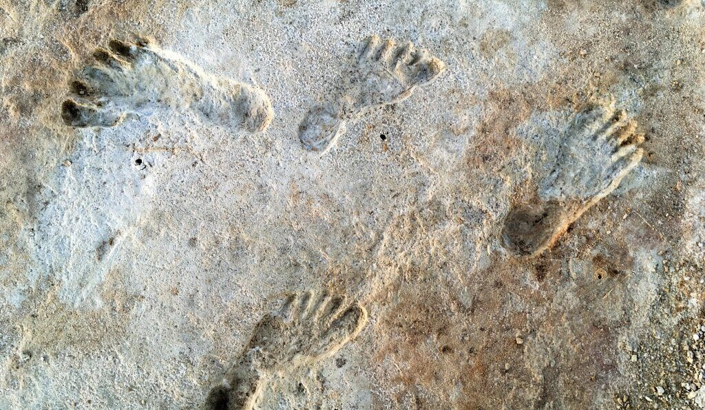 Earliest known evidence of humans in America discovered in New Mexico. Credit: NPS, USGS and Bournemouth University