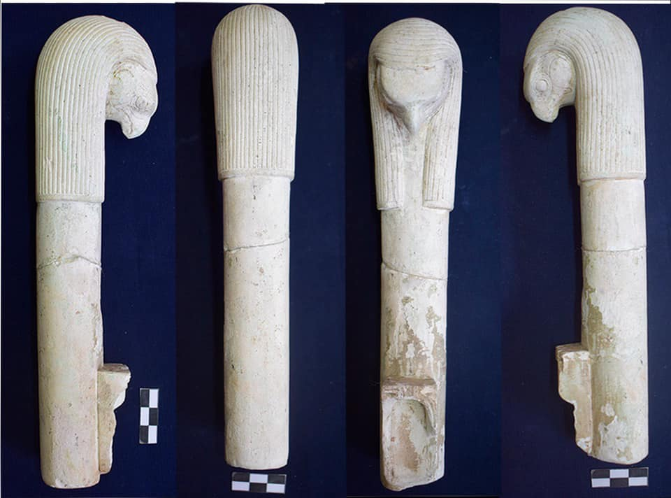 An artifact with animal motifs. Credit: Ministry of Antiquities / Facebook
