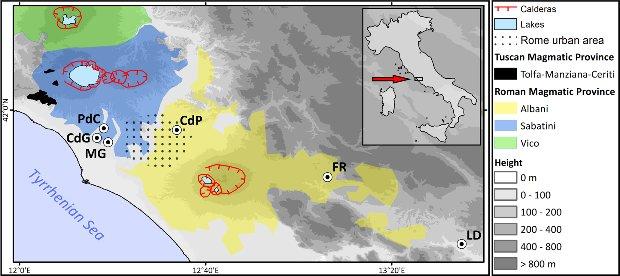 Location of the site. Credit: Paola Villa et al. / PLOS One, 2021
