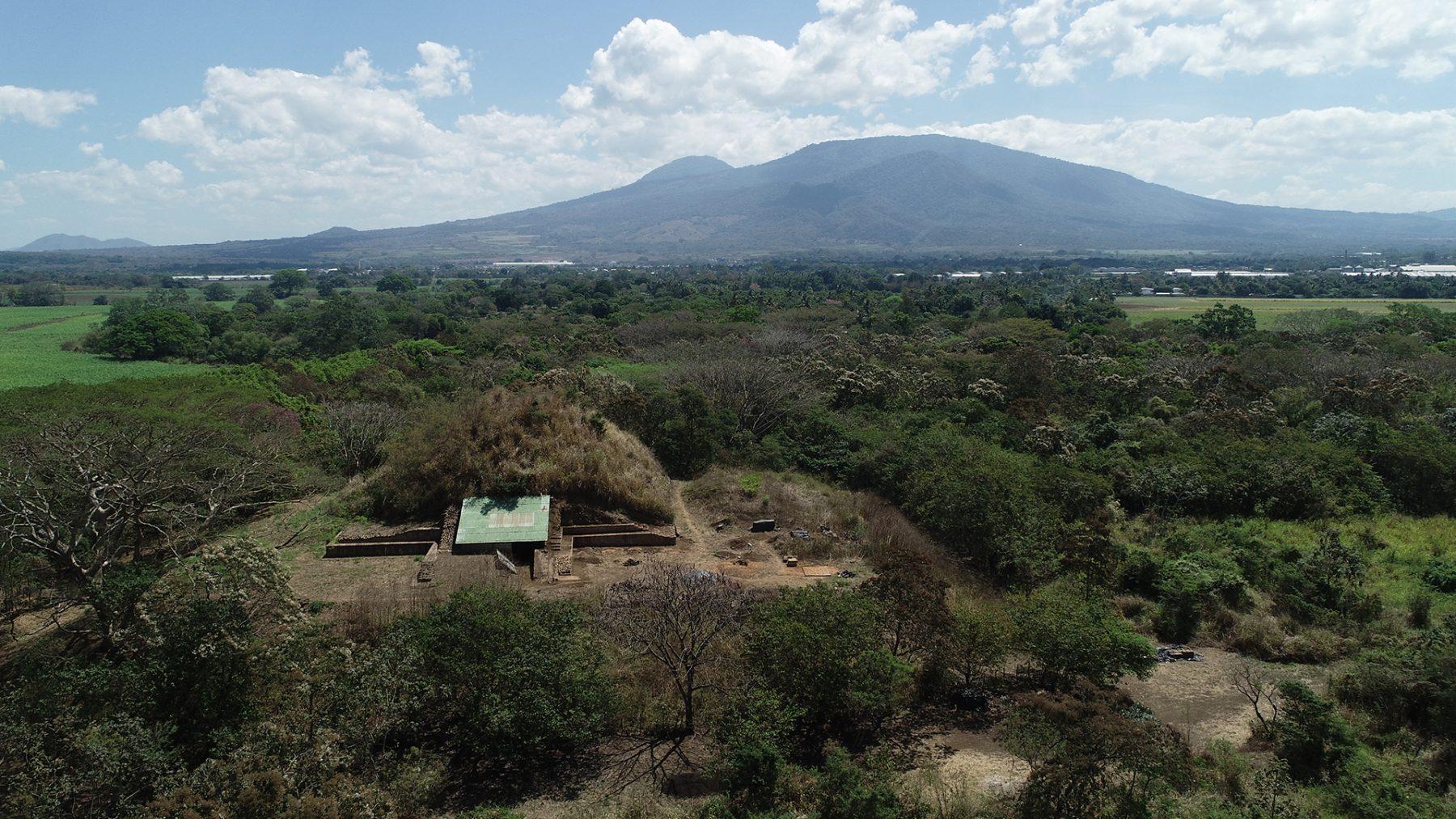 The Mayan pyramid known as the Campana structure. Credit: Akira Ichikawa / Antiquity, 2021