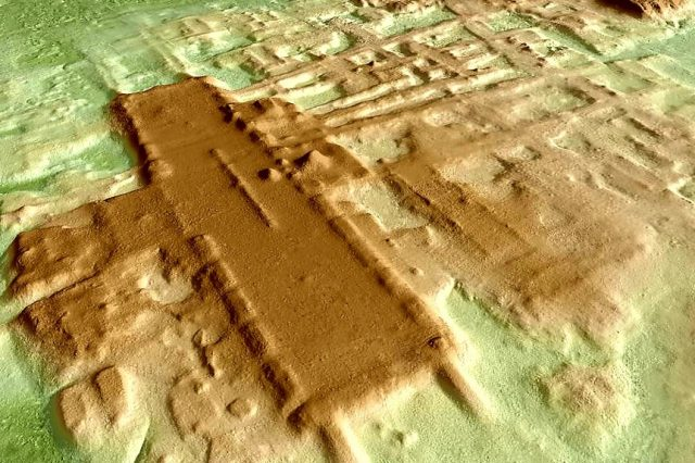 LIDAR technology was used to find 478 Mesoamerican monuments in Mexico. On the image - the Aguada Fenix complex. Credit: ALFONSOBOUCHOT/WIKIMEDIA COMMONS (CC BY-SA)