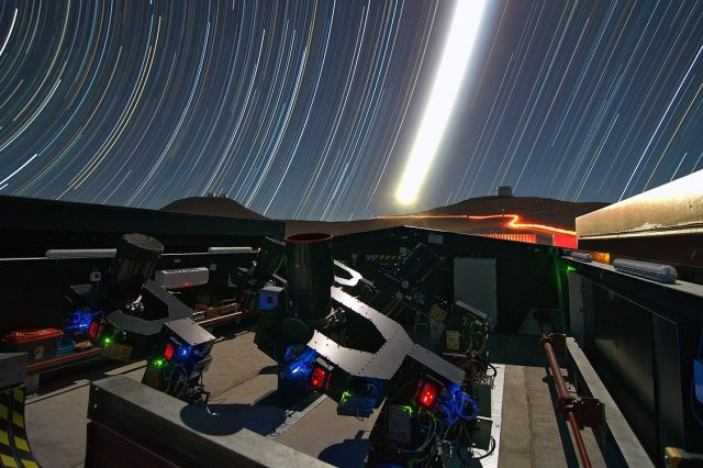 Astronomers have called out volunteers to help in the search for new exoplanets in a new citizen science project - NGTS. Credit: ESO / G. Lambert