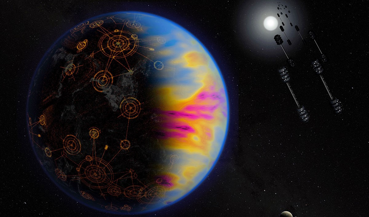 Astronomers plan to focus a lot more attention on the search of alien technosignatures in the future. Credit: NASA/Jay Freidlander